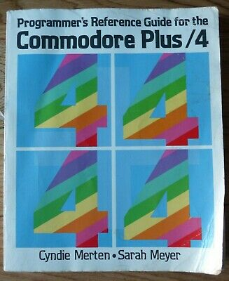 Commodore Plus 4  Programmers Reference Guide Book • 26.96£