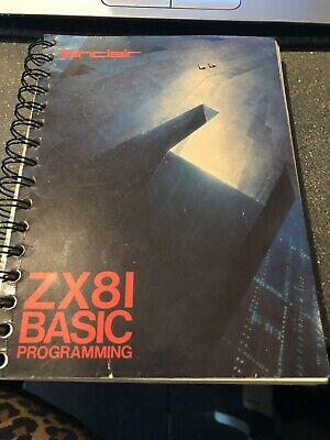Steven Vickers ZX81 Basic Programming [sinclair] Paperback Book • 8£