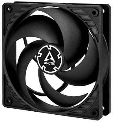 NEW P12 Silent Pressure Optimised Extra Quiet 120 Mm Case Fan Fan Speed 1050 RP • 8.83£
