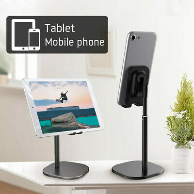 Universal Adjustable Tablet Stand Holder For IPad Samsung IPhone Mobile Phone UK • 5.59£