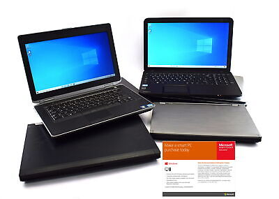 Cheap Windows 10 Laptop WiFi 4GB RAM 250GB HDD - FAST DELIVERY • 114.94£