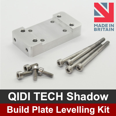 Qidi Tech Shadow Build Plate Platform Levelling Upgrade Kit - Resin 3D Printer • 20.99£