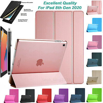 For Apple IPad 8th Generation 10.2  (2020) Latest Smart Stand Case Cover    • 8.99£