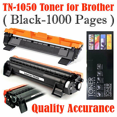 1 Black Toner Cartridge Fits Brother TN1050 DCP1610W DCP1612W HL1210W Printer • 6.79£