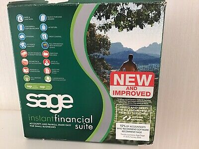 Sage Instant Financial Suite Accounts &Payroll New • 15£