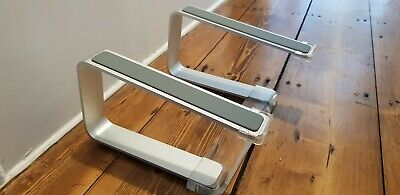 Used Griffin Elevator Laptop Stand - Silver/Clear  • 11.61£