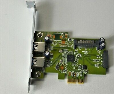 PCIE USB 3.0 EXPANSION CARD 2 X USB 3.0 HP HI343-1PCB Rev 3.2 • 14.99£