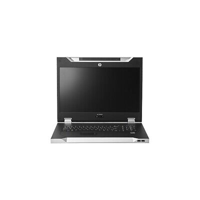 HP HPE AF631A LCD8500 1U UK Rackmount Console Kit 18.5  TFT LCD Rack 8500 • 299.99£