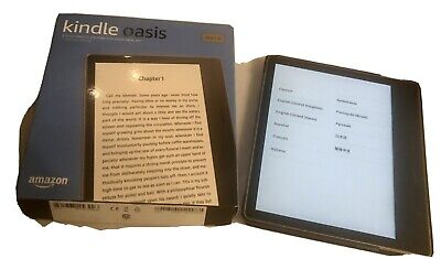 Amazon Kindle Oasis (9th Generation) 32GB, Wi-Fi No Ads 7in - Gold • 140£