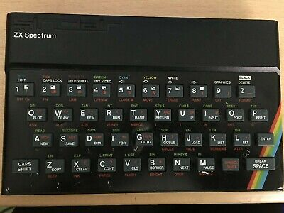 Original Case For ZX Spectrum With Keyboard And Screws. • 0.99£