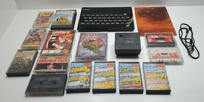 Sinclair ZX Spectrum With Games And Manual - Please Read Description • 19.80£