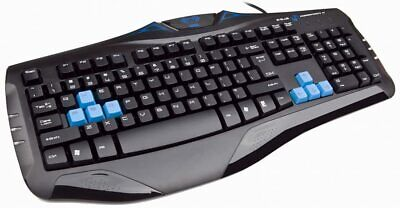 Mechanical Gaming Keyboard With Blue Switches 104 Keys Anti-ghosting • 18.99£