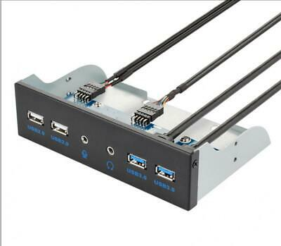 USB 3.0 Front Panel Hub Optical Drive 5.25 Inch Panel Computer Expansion Board • 24.95£
