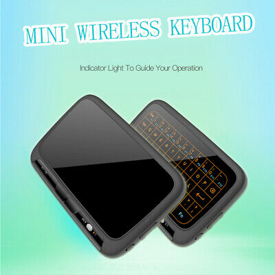 2.4GHz Mini Backlight Wireless Keyboard H18+ USB Full Touchpad Screen Air Mouse  • 17.89£
