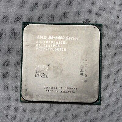 AMD A6-6400k APU Desktop CPU Processor AD640K0KA23HL 3.9ghz Fm2 • 10£