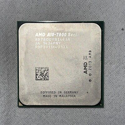 AMD A10-7800B AD780BYBI44JA Socket FM2+ 3.50GHz Quad Core CPU Processor APU • 23.10£