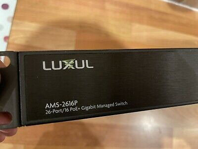Luxul AMS-2616 Managed Network Switch • 99£