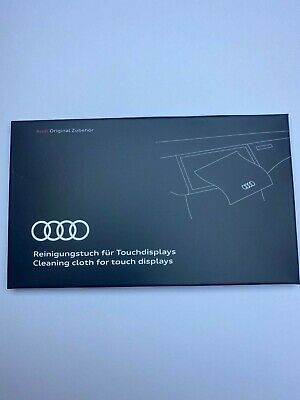 Genuine Audi Cleaning Cloth For Touch Displays And LCD Screens • 6£