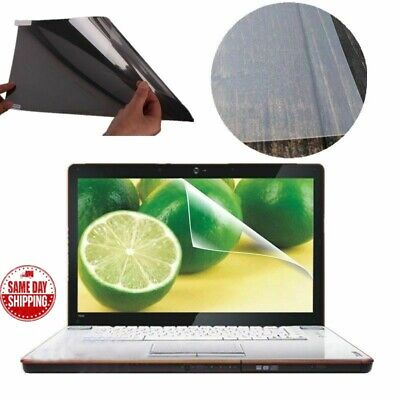 LCD Laptop Screen Guard Protector Notebook Anti Glare No Scratch Type 15.6  Wide • 5.89£