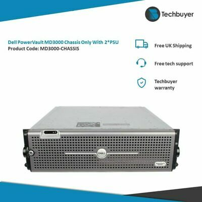 Dell PowerVault MD3000 Chassis Only With 2*PSU - MD3000-CHASSIS • 72£