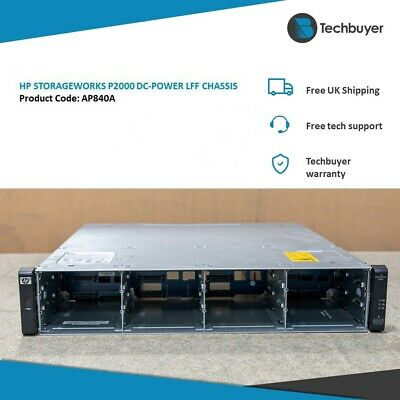Hp Storageworks P2000 Dc-power Lff Chassis - Ap840a • 100£