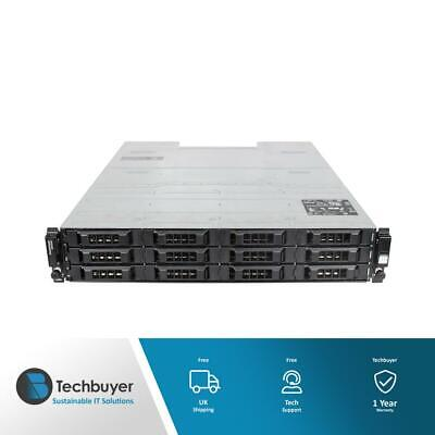 DELL POWERVAULT MD3200I CHASSIS 12 X LFF 2 X PSU • 180£