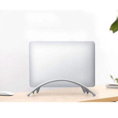 Laptop Stand Vertical Aluminum Alloy Erected Holder Base For MacBook Pro Air • 19.32£