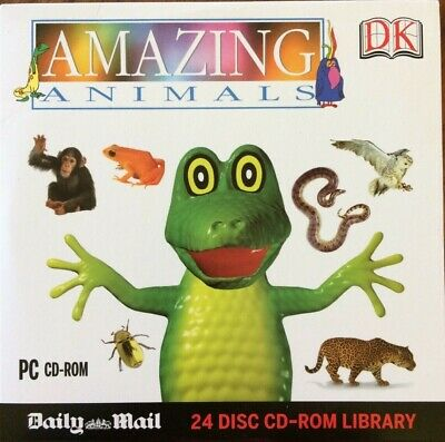 Amazing Animals  DK Encyclopedia -PC CD-ROM Daily Mail  • 2£