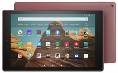 Amazon Fire HD 10 (9th Generation) 32GB, Wi-Fi, 10.1in - Plum With Special... • 129.29£