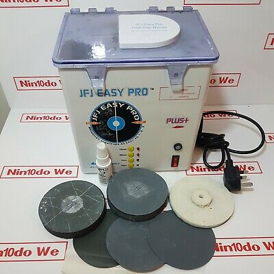 JFJ Easy Pro Disc Repair Cleaner Machine For Cleaning CD /DVD /Wii /Xbox 360/PS2 • 160£