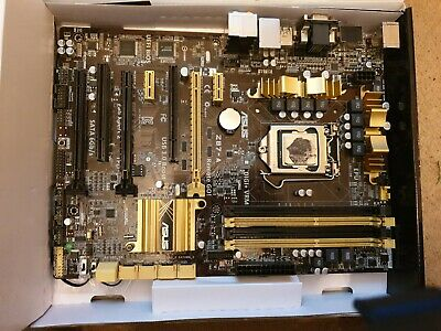 Asus Z87-a Motherboard With Intel Core I5-4690k Gaming • 2.20£