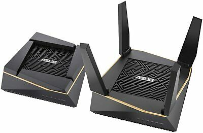ASUS RT-AX92U AX6100 Home WiFi 6 Tri-Band Mesh System Router | 2 Pack + 3YR WRTY • 369.99£