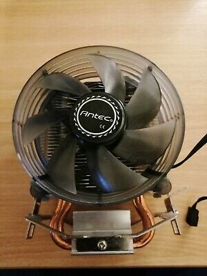 Antec A30 Dual Heatpipe CPU Air-Cooler With LED Fan, Multiple CPU Socket Support • 8£