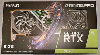 Palit GeForce RTX 3070 GamingPro ✅Royal Mail Special Delivery✅ NEW & SEALED • 695£