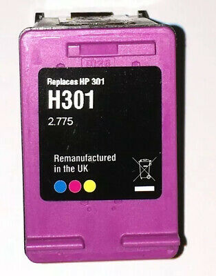 Two Empty Hp301 Printer Ink Cartridges, One Black & One Colour • 2.95£