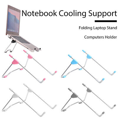 Adjustable Laptop Stand Folding Portable Desktop Holder Office Support Holder UK • 3.99£