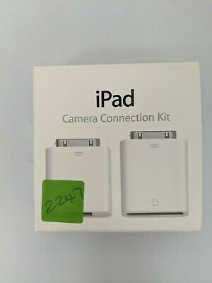 Apple IPad Camera Connection Kit 1 Connector (USB To 30 Pin) MC531ZM/A • 5.99£