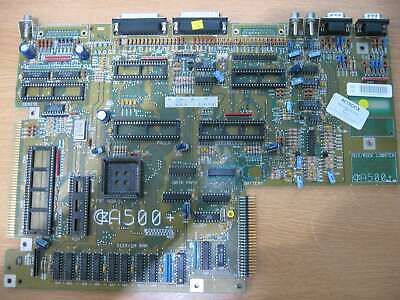 Amiga A500+ Motherboard - Scrap Board For Spares Only (C) • 9.95£