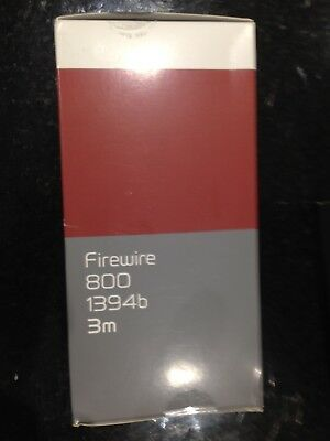 Firewire 800 Cable 1394b (IEEE1394 Cable) 3 Metres • 4.95£