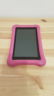 Fire 7 Kids Edition Tablet, 7  Display, 16 GB,including Pink Kid-Proof Case • 29£