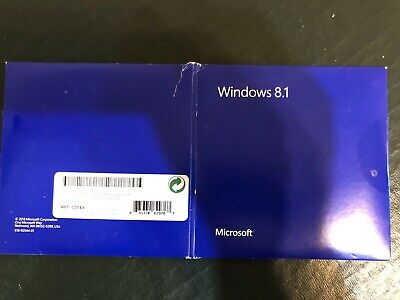 Windows 8.1 Full Version 32/64GB Install Discs With Serial Number • 47£