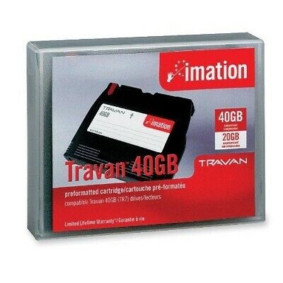 Imation Travan (TR-7) 20/40GB Data Storage • 59.99£