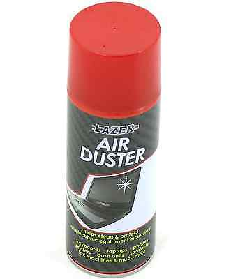 3 X 200ml Compressed Air Duster Spray Can Cleans Protects Laptops Keyboards Etc • 7.99£