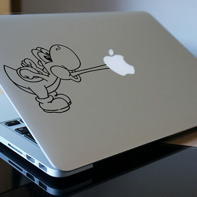 YOSHI Apple MacBook Decal Sticker Fits 11  12  13  15  And 17  Model • 3.99£