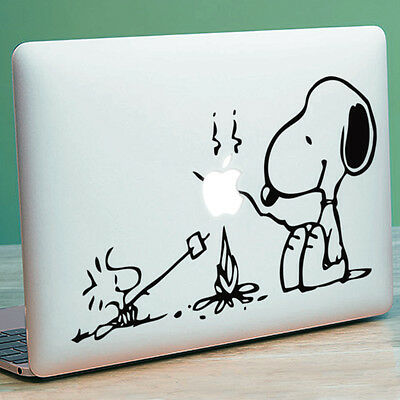 SNOOPY & PEANUTS Apple MacBook Decal Sticker Fits 11  12  13  15  And 17  Models • 4.99£
