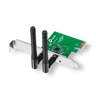 TP-LINK TL-WN881ND 300Mbps Wireless N PCI Express Adapter WiFi Card • 12.99£
