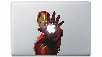 Lron Man Apple MacBook / Air/Pro 13  Sticker Skin Decal • 6.59£