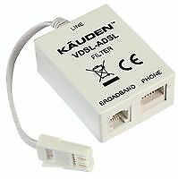 ADSL MICRO FILTER/SPLITTER Free Fast Delivery • 1.99£
