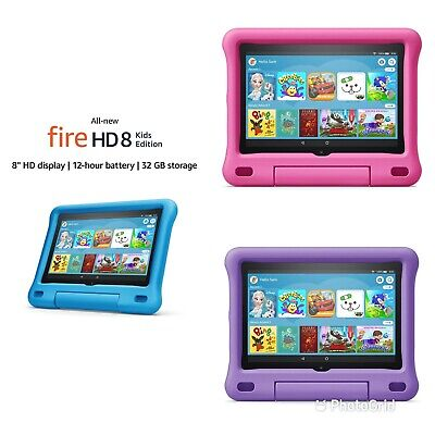 All New Amazon Fire HD 8 Kids Edition Tablet 32GB , 8 Inch Display 2020 Release • 134.99£