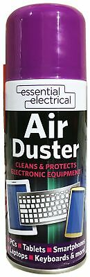 200ml Compressed Air Duster Cleaner Can,Canned For Laptop Keyboard Mouse • 4.99£